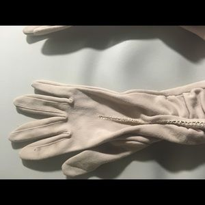 Nude 3/4 Length Vintage Gloves rare Made in Italy